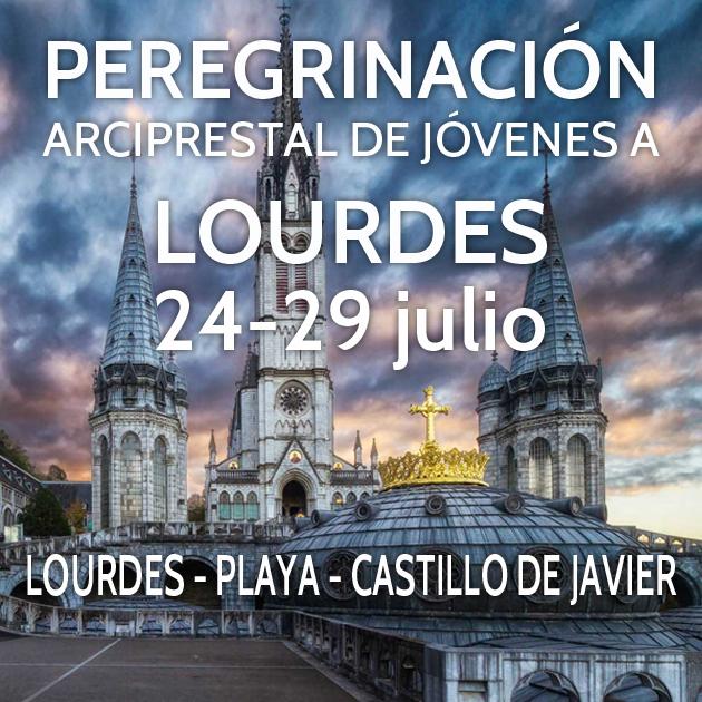 Peregrinación Arciprestal Lourdes
